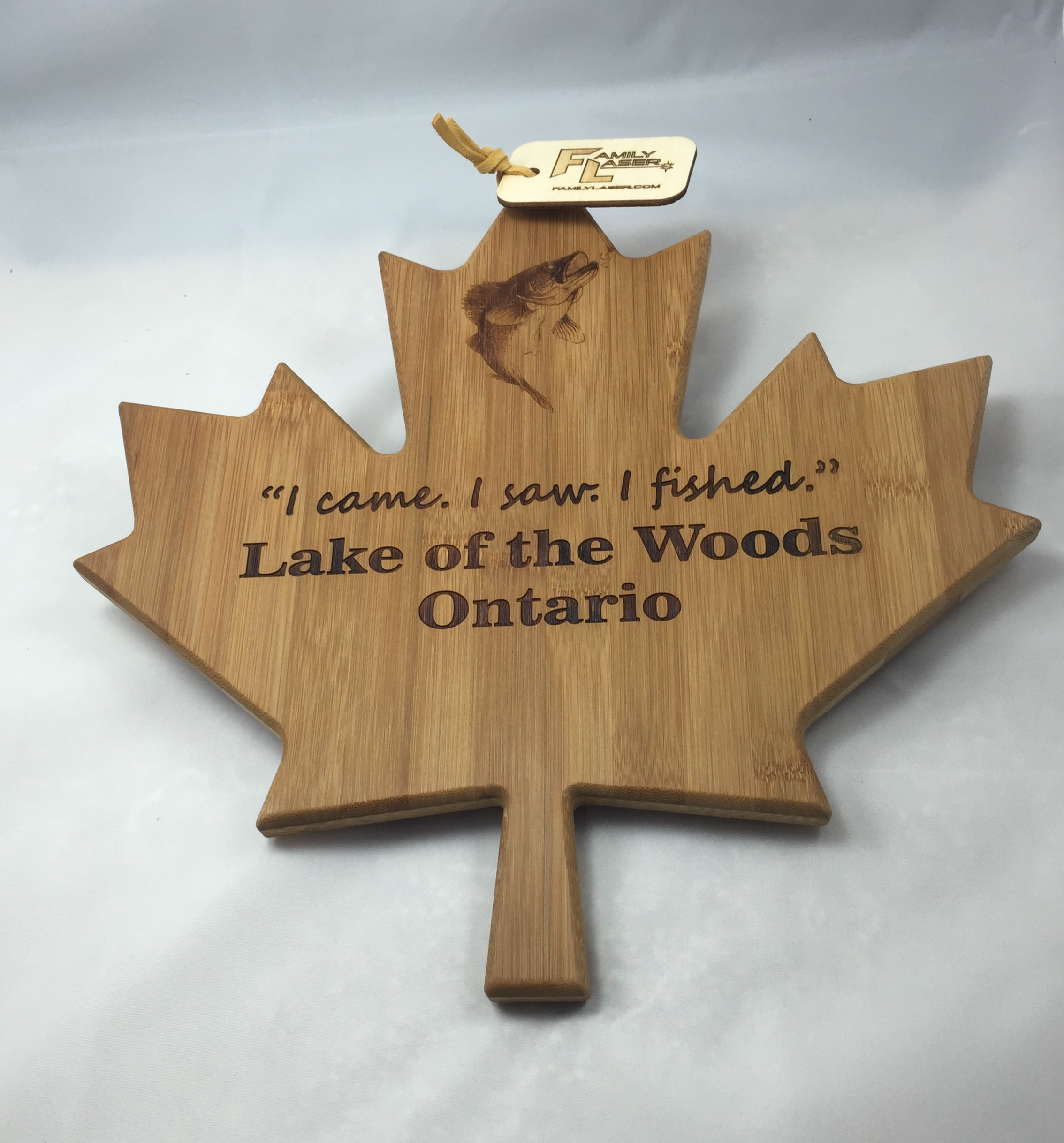 Maple Leaf Cutting Board Custom