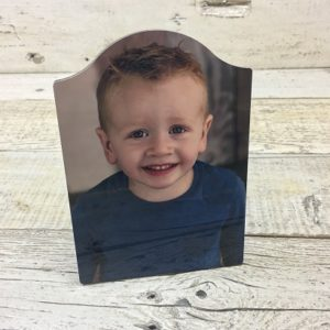 sublimated picture of boy