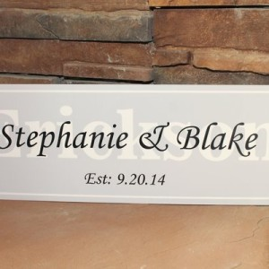 sign personalized