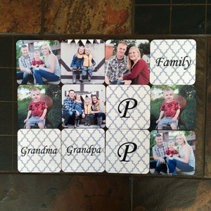 picture personalized coasters