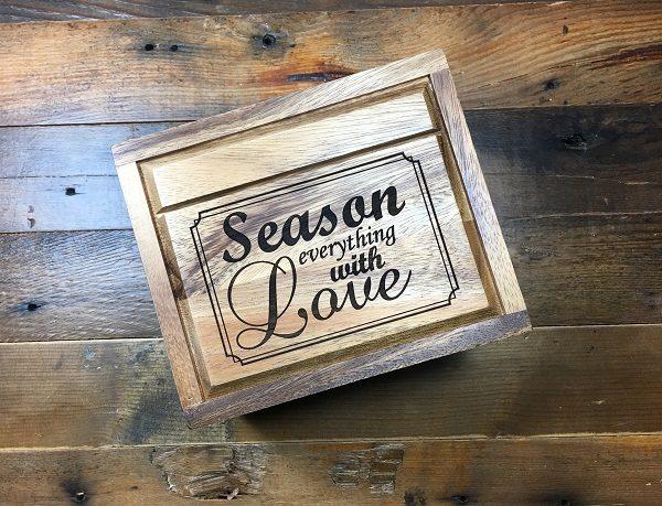 season everything with love recipe box