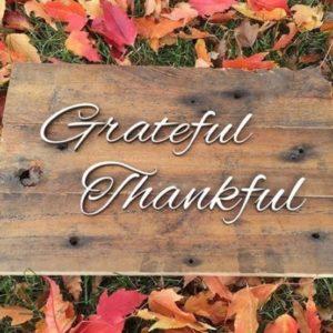 Grateful Thankful
